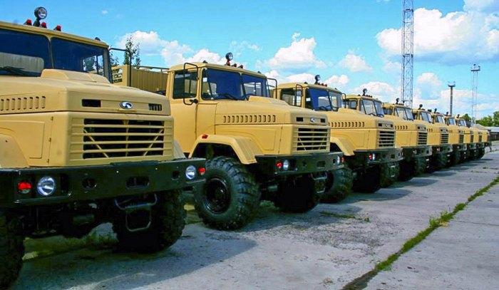 Великовантажні автомобілі КрАЗ, замовлені для армії Сполучених Штатів