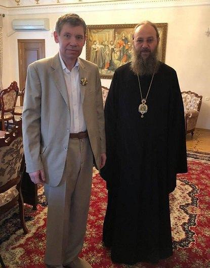 Решетников и Антоний (Паканич) - управляющий делами УПЦ (МП)