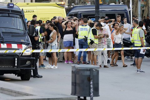 Поліція застрелила ймовірного виконавця теракту в Барселоні (оновлено)