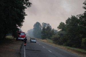 В Полтавской области загорелись торфяники
