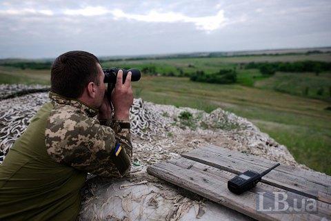 Окупанти застосували гранатомет і стрілецьку зброю поблизу Мар'їнки і Водяного