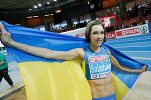 Саладуха стала кращою легкоатлеткою лютого в Європі