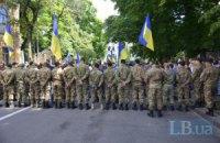 """Под АП бойцы батальона """"Донбасс"""" протестовали против перемирия (обновлено, добавлены фото)"""