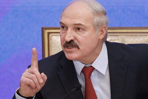 """Лукашенко закликав білорусів """"пожити на своєму"""""""