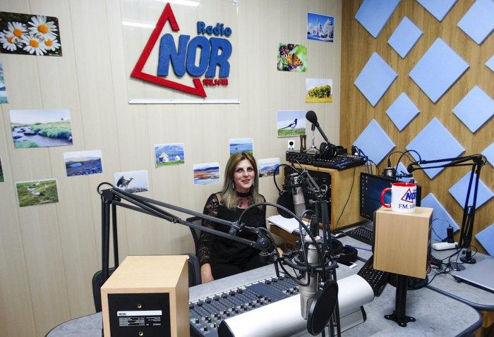 Студія радіо NOR у Ніноцмінда
