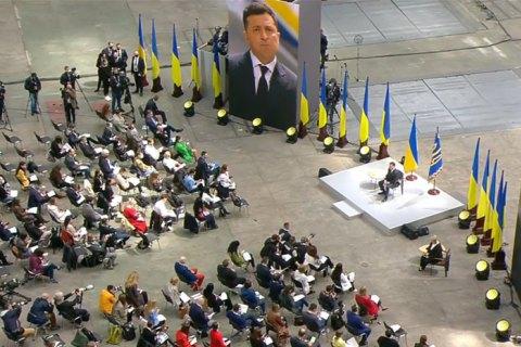 Зеленський заявив, що йому не потрібні Гройсман, Яценюк і Тимошенко