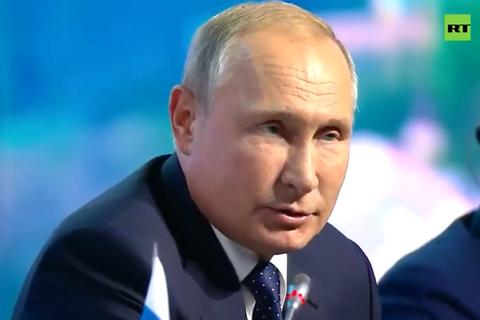 Путін заявив про фіналізацію переговорів з приводу обміну утримуваними особами
