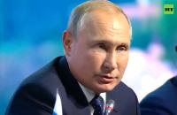 Путин заявил о финализации переговоров об обмене удерживаемыми лицами