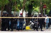 В индонезийском городе Макассар произошел взрыв возле собора, 14 человек ранены