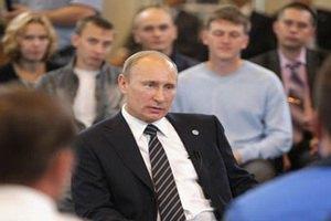 """Путин пожалел об обещании """"мочить в сортире"""""""