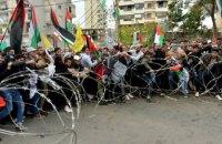 В Ливане полиция применила газ и водометы против протестующих у посольства США