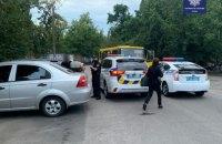 В Киеве двое мужчин угнали маршрутку и катались на ней по городу