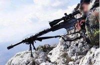 Солдат убит выстрелом снайпера на Донбассе