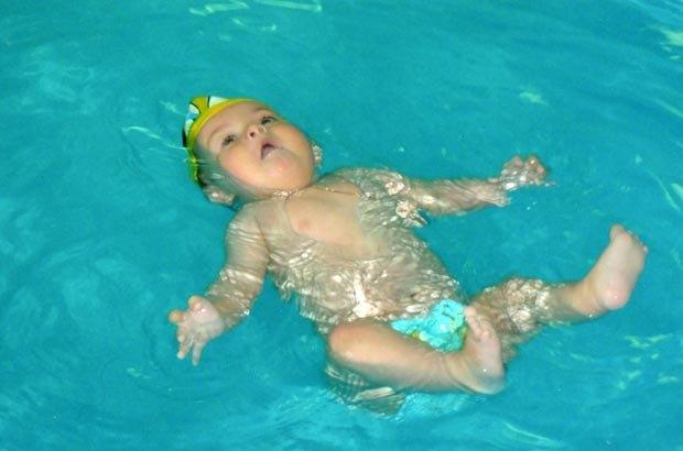 У басейні «Феско» є навіть групи для немовлят