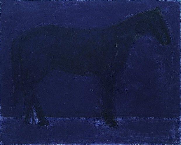 """Анатолий Криволап. """"Конь. Ночь"""". 2009. 160 x 200 см"""