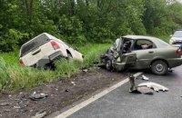 На Харківщині внаслідок зіткнення авто загинули троє людей