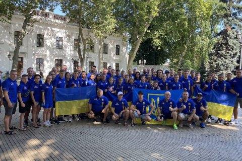 Сборная Украины заняла первое командное место на чемпионате мира по смешанным единоборствам среди юношей