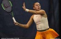 Украинка Дарья Лопатецкая стала самой юной теннисисткой в топ-500 рейтинга WTA