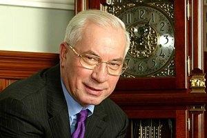 Азаров поздравил украинцев с Благовещением Пресвятой Богородицы