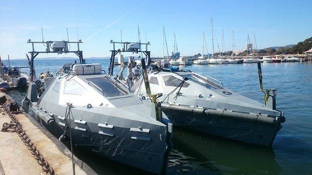 Безэкипажные катера Inspector Mk 2