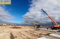 У херсонському аеропорту стартувало будівництво сучасної злітно-посадкової смуги