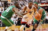 "НБА: ""Майами"" побеждает ""Бостон"", ""Лейкерс"" проиграл"