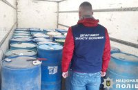 В Черновицкой области изъяли 26 тонн нелегального спирта