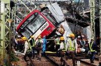 Під час зіткнення потяга та вантажівки в Японії постраждали 32 людини