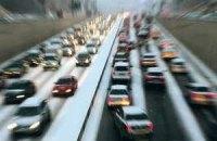 В Киеве на зиму снижают разрешенную скорость до 60 км/ч
