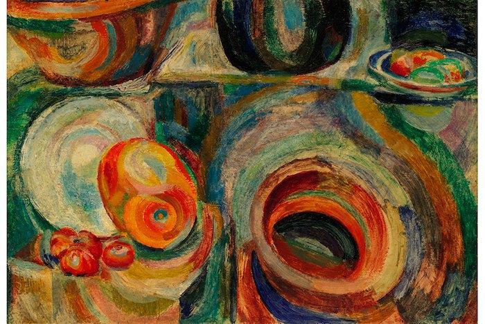 """Соня Делоне, """"Португальский натюрморт"""", 1916"""