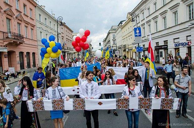 День Вишиванки в Варшаві, 2016