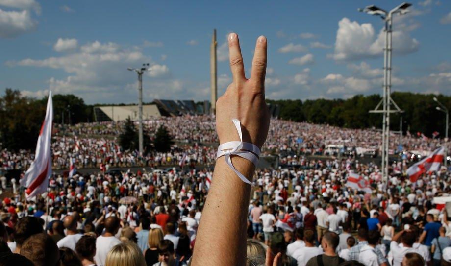 Наймасштабніша акція білорусів 'За свободу' у Мінску, 16 серпня 2020