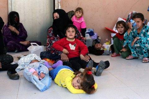 Влагере около Мосула случилось массовое отравление беженцев