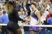 Світоліна розгромно поступилася Серені Вільямс у півфіналі US Open