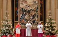 Папа Римський у різдвяній промові згадав про Україну