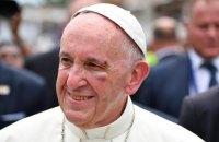 Папа Римський отримав травму під час візиту в Колумбію
