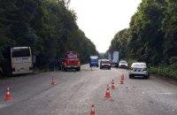 """У Хмельницькій області розбився туристичний автобус """"Неаполь-Херсон"""""""