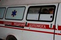 Львівський міліціонер на виборчій дільниці впав і проломив череп
