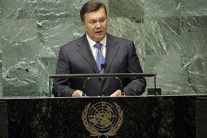 Янукович обещает бизнесу благоприятные условия для работы