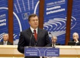 Речь президента Виктора Януковича на сессии ПАСЕ (ТЕКСТ)