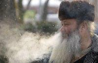 В Украине от морозов погибло 133 человека