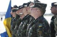 Украинские миротворцы из Косово отправятся в зону АТО