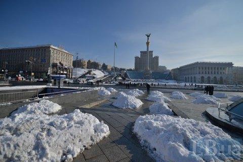 В понедельник в Киеве ожидается небольшой мороз