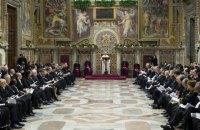 Папа Франциск призвал международное сообщество помнить о войне в Украине