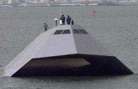 ВМС США продают экспериментальный корабль-невидимку