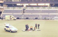 У бельгийского футболиста во время матча остановилось сердце