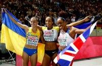 """Украинка Бех выиграла """"серебро"""" в прыжках в длину на объединенном чемпионате Европы"""
