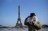 Франція вводить комендантську годину через коронавірус
