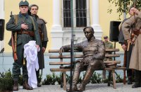 Памятник Симону Петлюре открыли в Виннице