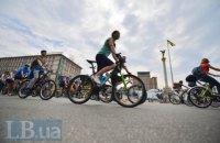Ввиду Всеукраинского велодня в Киеве изменят движение транспорта